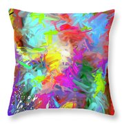 Birth Of Venus Throw Pillow