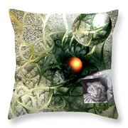 Birth Throw Pillow