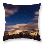 Bishop Night Throw Pillow