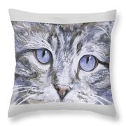 Bisous Throw Pillow