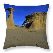 Bisti Badlands 2 Throw Pillow