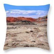 Bisti Badlands 6 Throw Pillow
