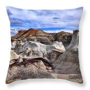 Bisti Badlands 7 Throw Pillow