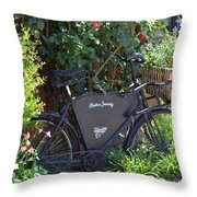 Bistro Jeanty Throw Pillow