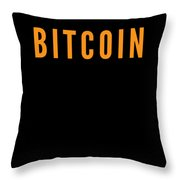 Bitcoin Changed My Life Tell The World Cryptocurrency Trader Or Hodl Love Crypto Gift Or Present For Throw Pillow