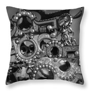 Bits Throw Pillow
