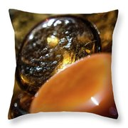 Bits Of Glass /2/ Throw Pillow