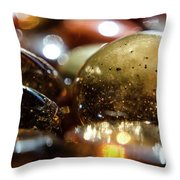 Bits Of Glass /3/ Throw Pillow