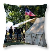 Bivouac Throw Pillow
