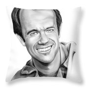 Bj-mike Farrell Throw Pillow