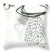 Black And White # 11 Throw Pillow