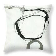 Black And White # 22 Throw Pillow