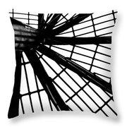 Black And White 4 Throw Pillow