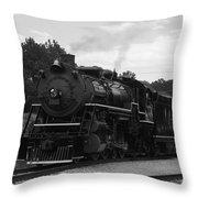 Black And White 4501 Throw Pillow