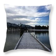 It's Not All Black And White Throw Pillow