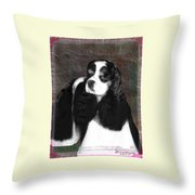 Black And White Cookie Throw Pillow
