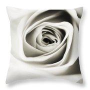 Black And White Delight Throw Pillow