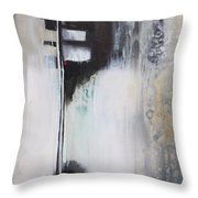 Black And White Drama 1 Throw Pillow