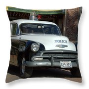 Black And White In Color Throw Pillow