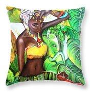 Black Beauty004 Throw Pillow