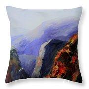 Black Canyon Throw Pillow