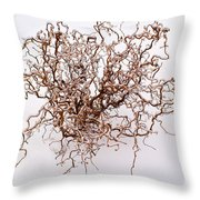 Black Death Virus Throw Pillow