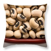 Black Eyed Peas Throw Pillow