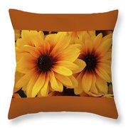 Black Eyed Susan Medley V2 Throw Pillow