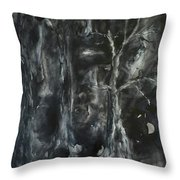 Black Magic Mystery Throw Pillow