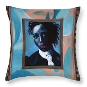Black Girl Is Beautiful Throw Pillow