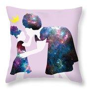 Black Girl Magic Pass It On Throw Pillow