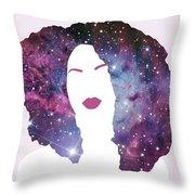 Black Girl Magic Sparkle Throw Pillow