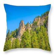 Black Hills Majesty Throw Pillow