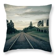 Black Hills National Cemetery  Throw Pillow