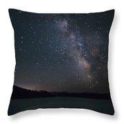 Black Hills Nightlight Throw Pillow