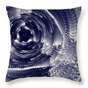 Black Hole #66v22 Throw Pillow