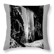 Black Ice #2 Throw Pillow