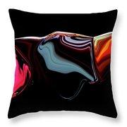 Black Ice Throw Pillow
