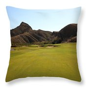 Black Jack's Crossing Golf Course Hole 11 Throw Pillow
