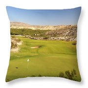 Black Jack's Crossing Golf Course Hole 12 Throw Pillow