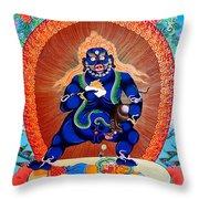 Black Jambhala  4 Throw Pillow