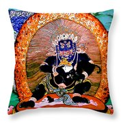 Black Jambhala  5 Throw Pillow