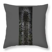 Black Knight. Flora Fantasy 6.14.17  Throw Pillow