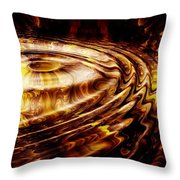 Black Maple Throw Pillow