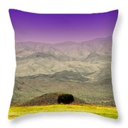 Black Mountains Az Throw Pillow