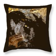 Black Panther Throw Pillow