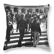 Black Panthers, 1967 Throw Pillow