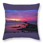 Black Point Throw Pillow
