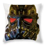 Black Stormtrooper - Pa Throw Pillow