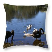 Black Swan's Throw Pillow
